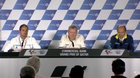 Los responsables de la marca hablaban en la tarde del sábado en Qatar de sus avances y planes como proveedor de neumáticos de MotoGP™.