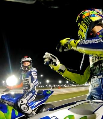 Lorenzo & Rossi resume rivalry