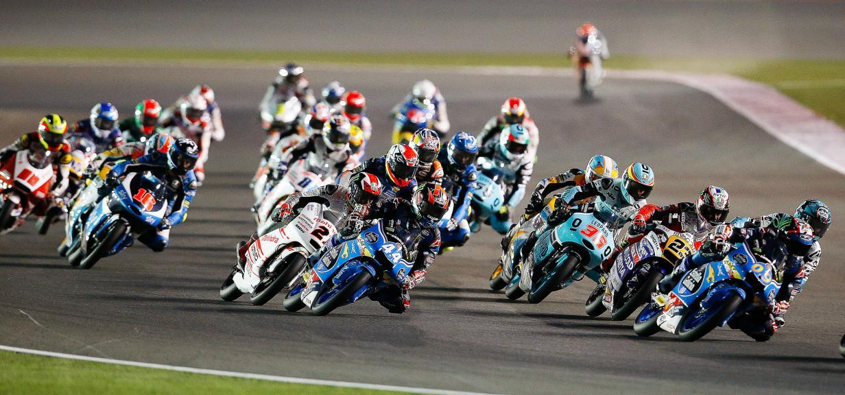 Moto Gp Action, Grand Prix of Qatar