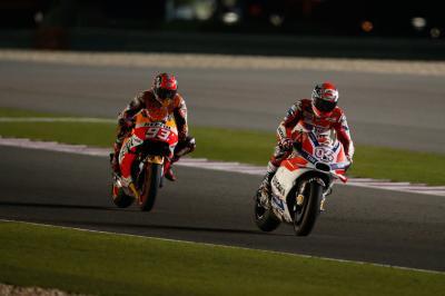 Dovizioso: Letzte Runde gegen Marc immer schwierig