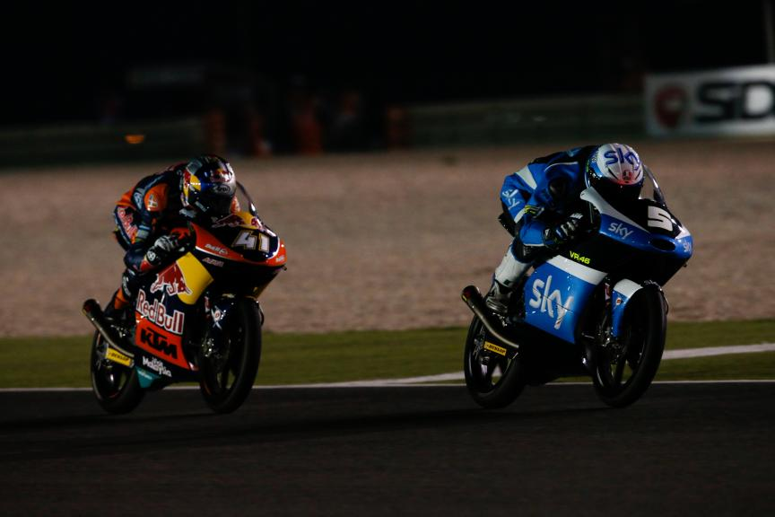 Romano Fenati, Sky Racing Team Vr46, Grand Prix of Qatar