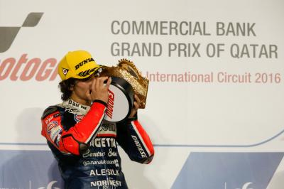 """Antonelli: """"I knew that KTM bikes were faster"""""""