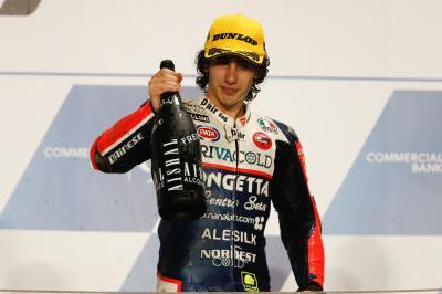 Antonelli: «No sabía que era la última vuelta»