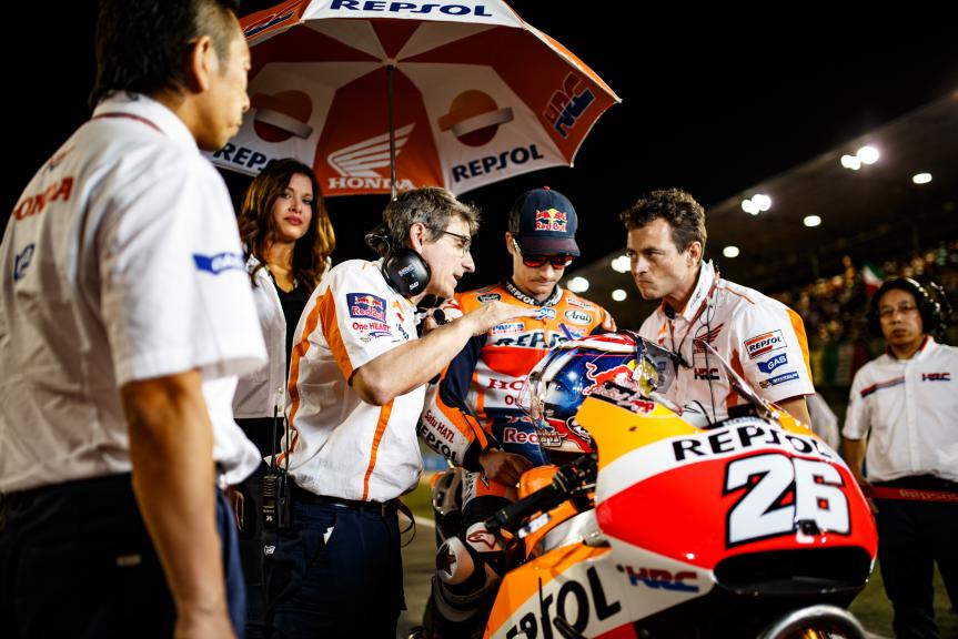 Dani Pedrosa, Repsol Honda Team, Grand Prix of Qatar ©Alex Chailan - David Piolé