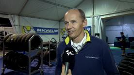 ミシュランのテクニカルディレクター、ニコラス・グベールが決勝レースを振り返る。