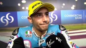 Luis Salom è secondo in Moto2™ dopo la penalità inflitta a Franco Morbidelli.