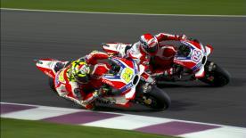 Das Rennen des #QatarGP in der Slow Motion.