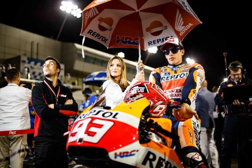 Marc Marquez, Repsol Honda Team, Grand Prix of Qatar ©Alex Chailan / David Piolé