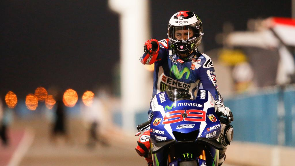 TC- Jorge Lorenzo, Movistar Yamaha Moto Gp, Grand Prix of Qatar