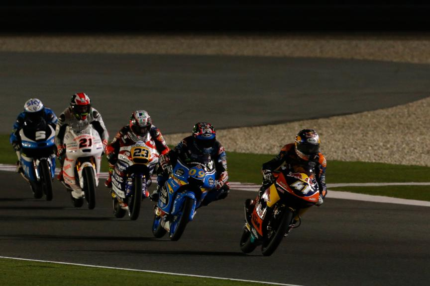 Moto 3 Action, Grand Prix of Qatar