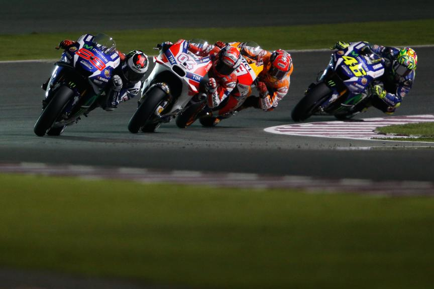 Moto Gp Action, Grand Prix of Qatar