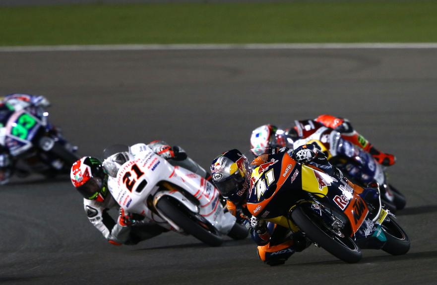 Moto 3 Action, Grand Prix of Qatar