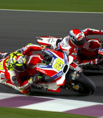 #QatarGP: MotoGP™ slow motion footage