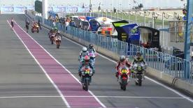 The full Warm Up session for the Moto2™ World Championship at the Qatar GP.