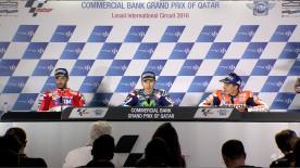 Die Sieger des MotoGP™ Grand Prix beim #QatarGP sprechen über ihre Rennen.