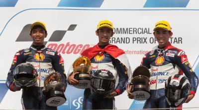 Andi Izdihar takes second race win in Qatar