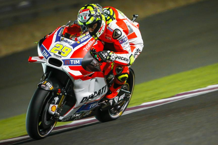 Andrea Iannone, Ducati Team, Grand Prix of Qatar