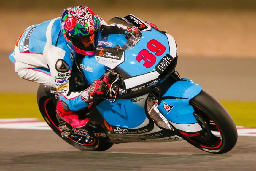 Luis Salom, SAG Team, Grand Prix of Qatar