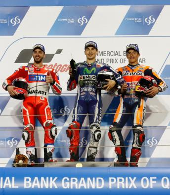 Lorenzo and Marquez roll the dice in Qatar
