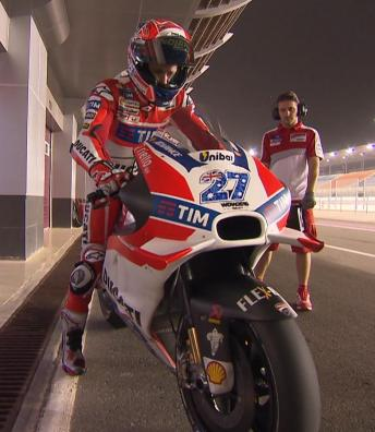 Stoner completes two-day test in Qatar