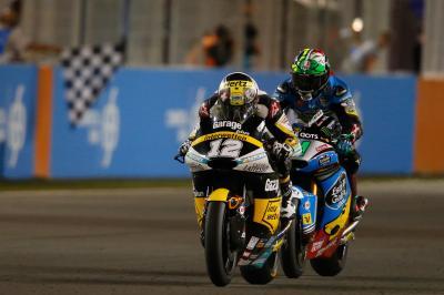 Mike Webb, la partenza della Moto2™ in Qatar