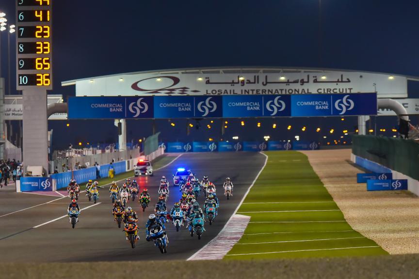Moto3, GP of Qatar