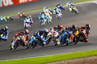 Les pilotes du Moto3™ à l'assaut de l'Argentine