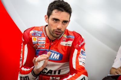 Pirro livre ses objectifs pour le GP d'Argentine