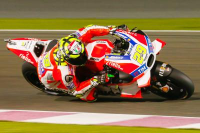 "Iannone: ""I'm still pretty disappointed about the race"""