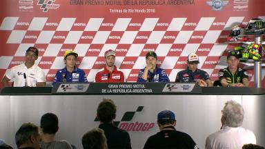 Press conference kicks off #ArgentinaGP