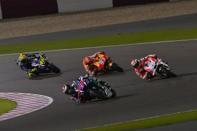 The pressure is on as MotoGP™ steps into the unknown