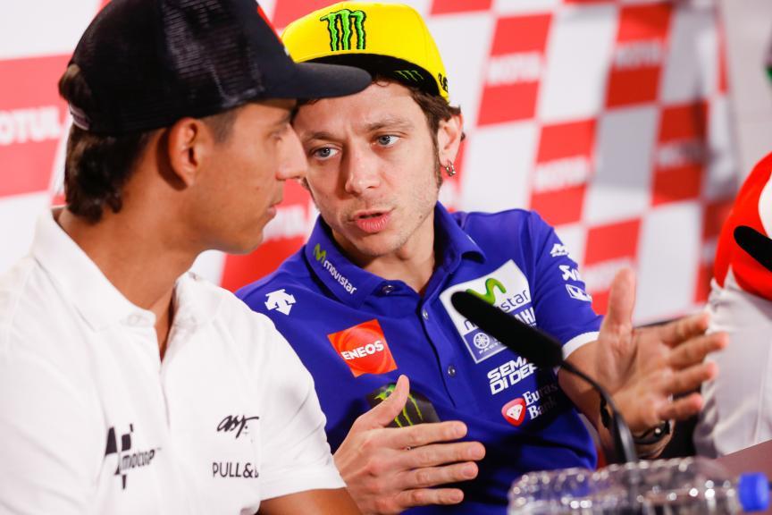 Press Conference, Gran Premio Motul de la República Argentina