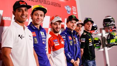GP di Argentina, la conferenza stampa