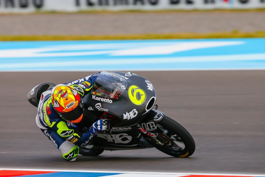 Maria Herrera, MH6 Laglisse, Moto3, Gran Premio Motul de la República Argentina