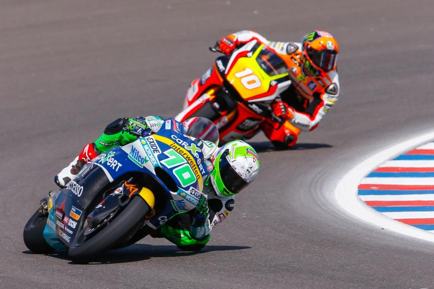 Robin Mulhauser CarXpert Interwetten, Luca Marini Forward Team, Moto2, Gran Premio Motul de la República Argentina