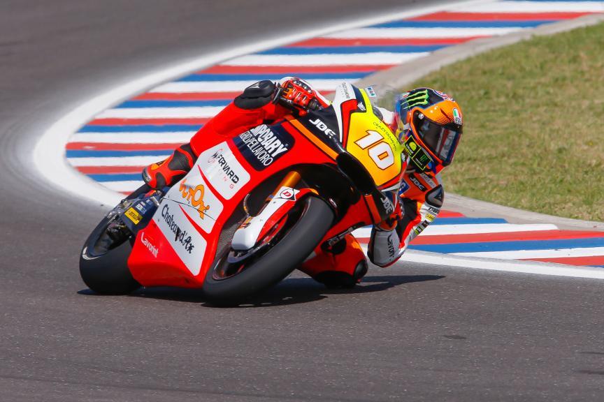 Luca Marini, Forward Team, Moto2, Gran Premio Motul de la República Argentina
