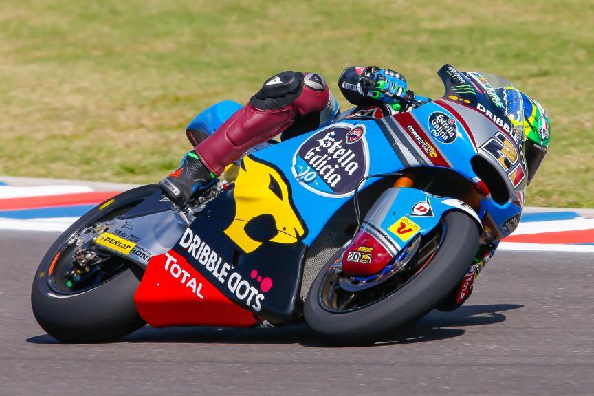 Franco Morbidelli, Estrella Galicia 0,0 Marc VDS, Moto2, Gran Premio Motul de la República Argentina