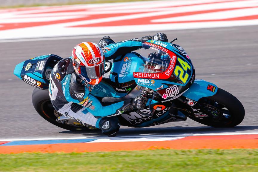 Simone Corsi, Speed Up Racing, Moto2, Gran Premio Motul de la República Argentina