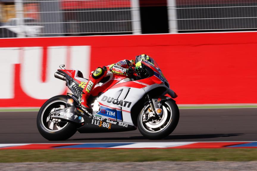Andrea Iannone, Ducati Team, MotoGP, Gran Premio Motul de la República Argentina