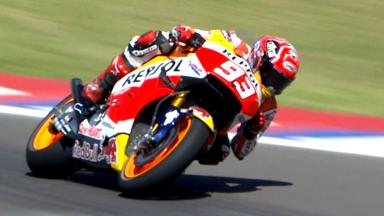 Highlights: Marquez on top as Lorenzo struggles