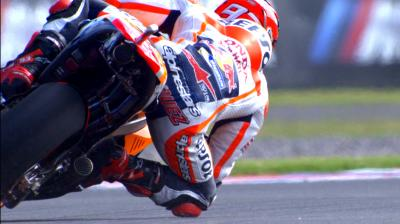 #ArgentinaGP: Los entrenamientos de MotoGP™ a cámara lenta.