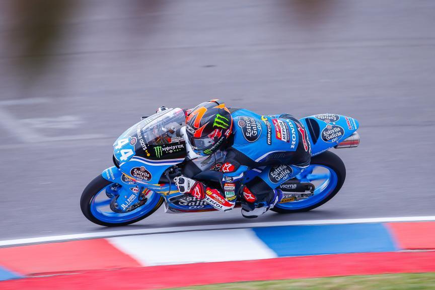 Aron Canet, Estrella Galicia 0,0, Moto3, Gran Premio Motul de la República Argentina