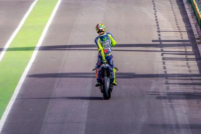 Rossi: «Un día difícil para todo el mundo»