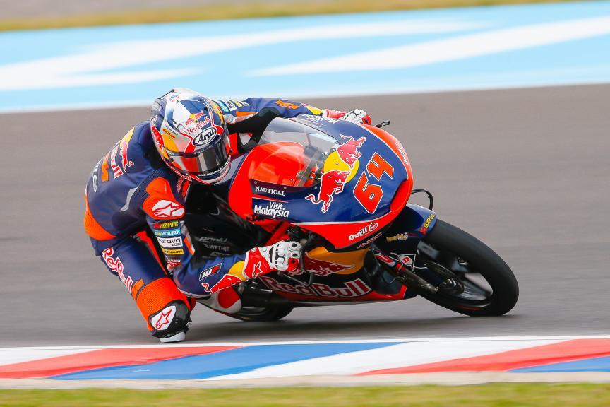 Bo Bendsneyder, Red Bull KTM Ajo, Moto3, Gran Premio Motul de la República Argentina