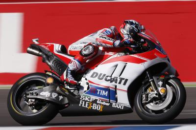 Dovizioso leads as MotoGP™ riders settle in