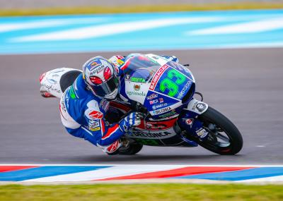 Bastianini tops first Moto3™ practice in Argentina
