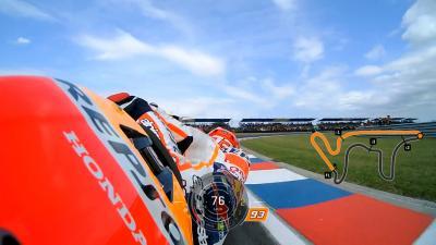La pole position de Márquez