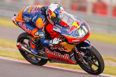 Binder bags first pole position for the Argentina GP