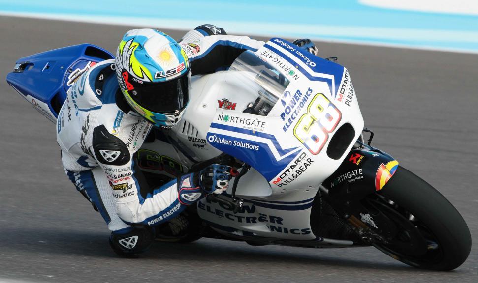 Yonny Hernandez, Aspar Team Motogp, Gran Premio Motul de la República Argentina