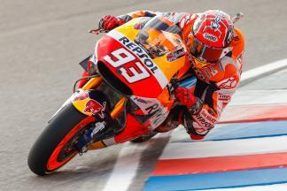 Márquez, primero en la FP4 de MotoGP™
